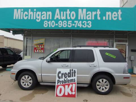 2010 Mercury Mountaineer for sale at Michigan Auto Mart in Port Huron MI