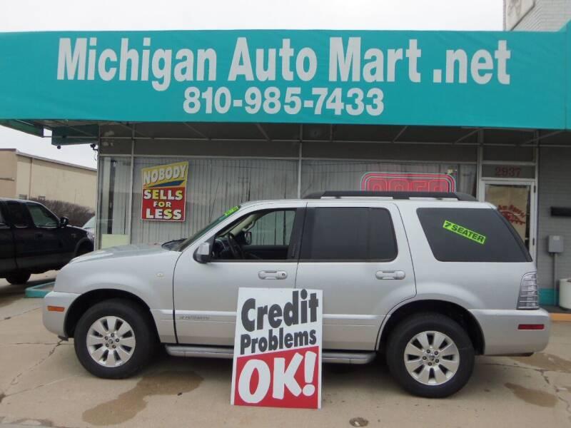 2010 Mercury Mountaineer for sale at Michigan Auto Mart in Port Huron MI