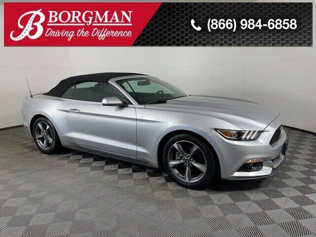 2016 Ford Mustang for sale at BORGMAN OF HOLLAND LLC in Holland MI