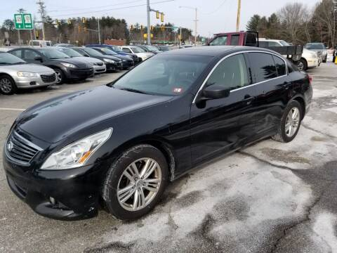 2013 Infiniti G37 Sedan for sale at Official Auto Sales in Plaistow NH