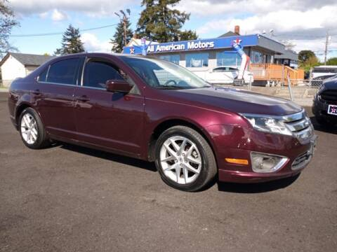 2011 Ford Fusion for sale at All American Motors in Tacoma WA