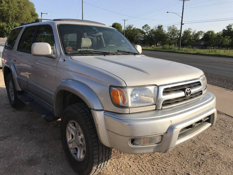 1999 Toyota 4Runner for sale at CLASSIC MOTOR SPORTS in Winters TX