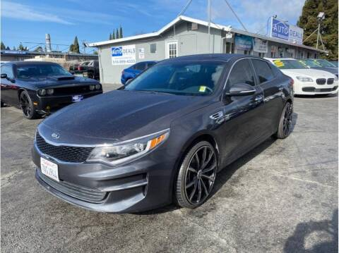 2017 Kia Optima for sale at AutoDeals in Hayward CA