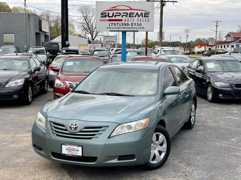 2007 Toyota Camry for sale at Supreme Auto Sales in Chesapeake VA