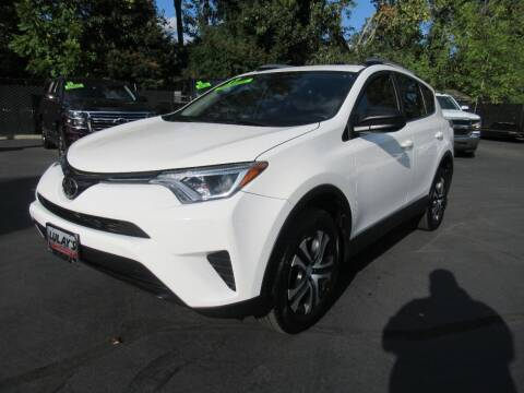 2017 Toyota RAV4 for sale at LULAY'S CAR CONNECTION in Salem OR