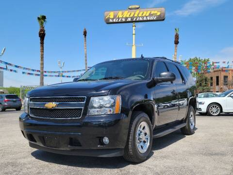 2013 Chevrolet Tahoe for sale at A MOTORS SALES AND FINANCE in San Antonio TX