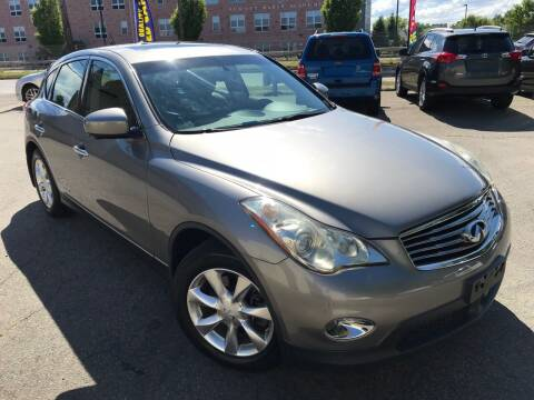 2010 Infiniti EX35 for sale at Millennium Motors Sales in Revere MA