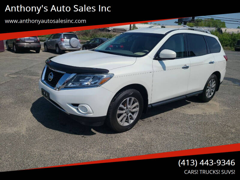 2013 Nissan Pathfinder for sale at Anthony's Auto Sales Inc in Pittsfield MA
