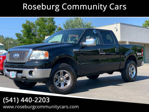 2008 Ford F-150 for sale at Roseburg Community Cars in Roseburg OR