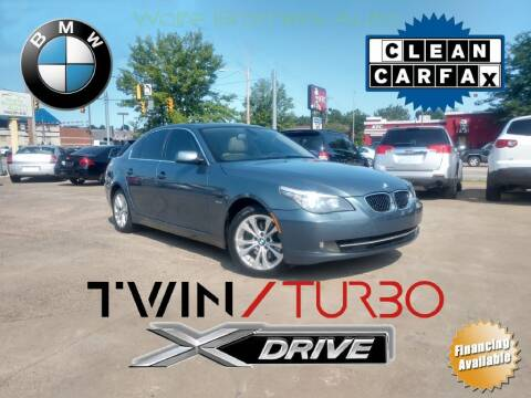 2010 BMW 5 Series for sale at Wolfe Brothers Auto in Marietta OH