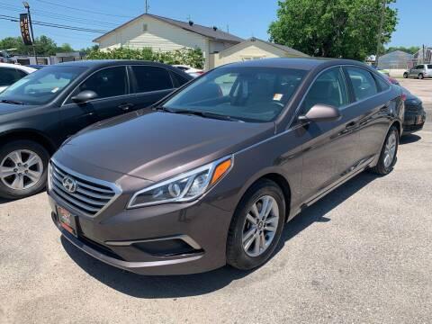 2016 Hyundai Sonata for sale at MILLENIUM MOTOR SALES, INC. in Rosenberg TX