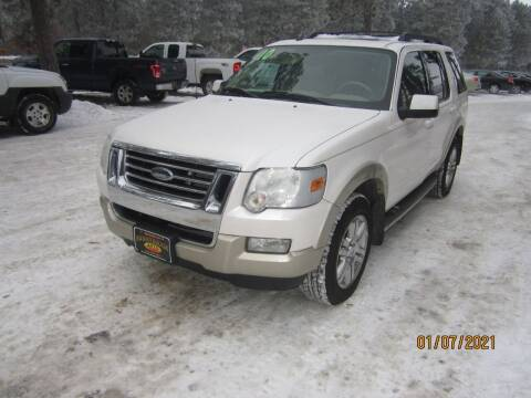 2010 Ford Explorer for sale at SUNNYBROOK USED CARS in Menahga MN