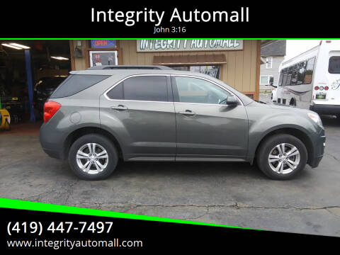 2013 Chevrolet Equinox for sale at Integrity Automall in Tiffin OH