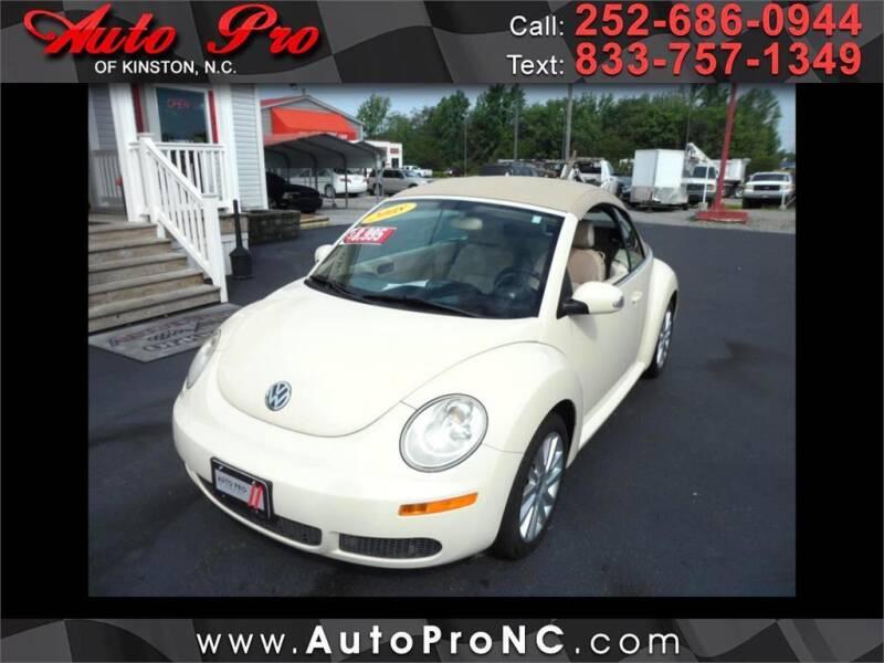 2008 Volkswagen New Beetle Convertible for sale in Kinston, NC