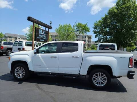2015 GMC Canyon for sale at R C Motors in Lunenburg MA