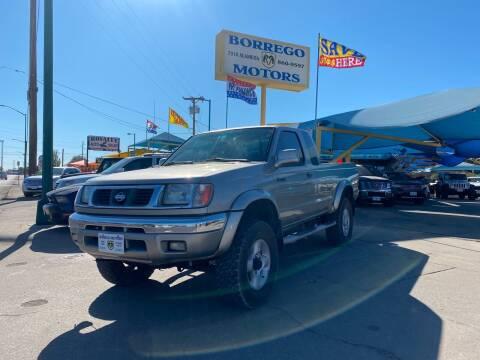 2000 Nissan Frontier for sale at Borrego Motors in El Paso TX