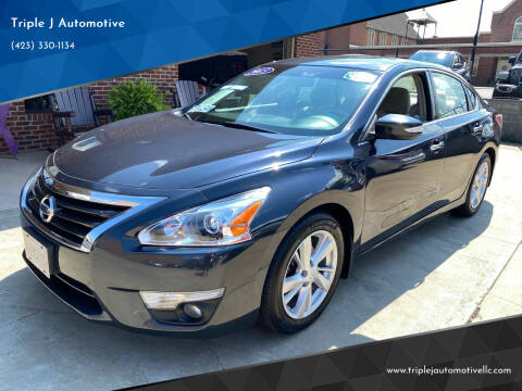 2013 Nissan Altima for sale at Triple J Automotive in Erwin TN