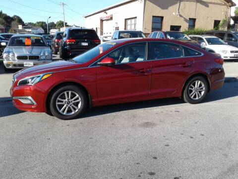 2015 Hyundai Sonata for sale at Nelsons Auto Specialists in New Bedford MA