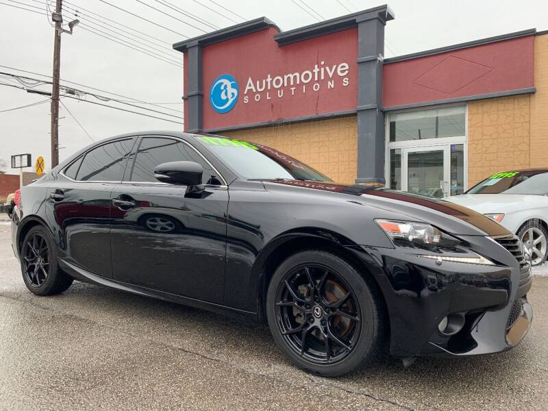 2014 Lexus IS 250 for sale at Automotive Solutions in Louisville KY