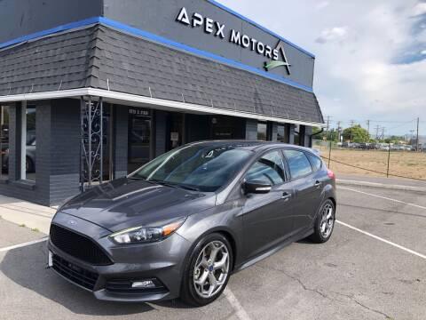 2015 Ford Focus for sale at Apex Motors in Murray UT