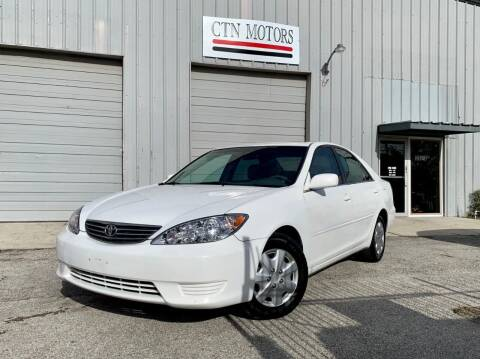 2005 Toyota Camry for sale at CTN MOTORS in Houston TX