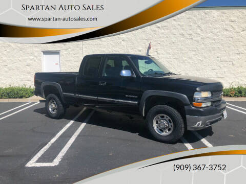 2002 Chevrolet Silverado 2500HD for sale at Spartan Auto Sales in Upland CA