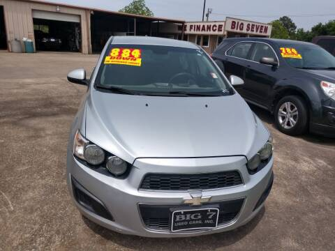2013 Chevrolet Sonic for sale at BIG 7 USED CARS INC in League City TX