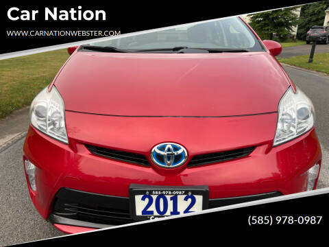 2012 Toyota Prius for sale at Car Nation in Webster NY