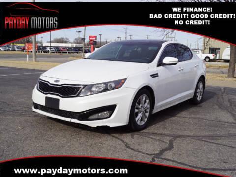 2012 Kia Optima for sale at Payday Motors in Wichita And Topeka KS