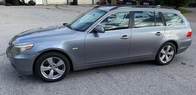 2006 BMW 5 Series for sale at Past & Present MotorCar in Waterbury Center VT