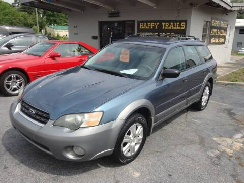 2005 Subaru Outback for sale at HAPPY TRAILS AUTO SALES LLC in Taylors SC