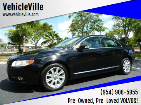 2011 Volvo S80 for sale at VehicleVille in Fort Lauderdale FL