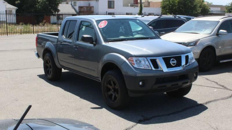 2017 Nissan Frontier for sale at Car Bazaar INC in Salt Lake City UT