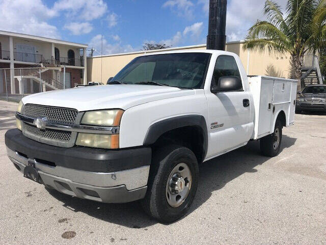 2003 Chevrolet Silverado 2500HD for sale at Florida Cool Cars in Fort Lauderdale FL