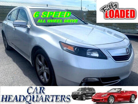 2013 Acura TL for sale at CAR  HEADQUARTERS in New Windsor NY