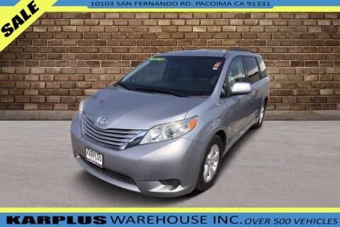 2017 Toyota Sienna for sale at Karplus Warehouse in Pacoima CA