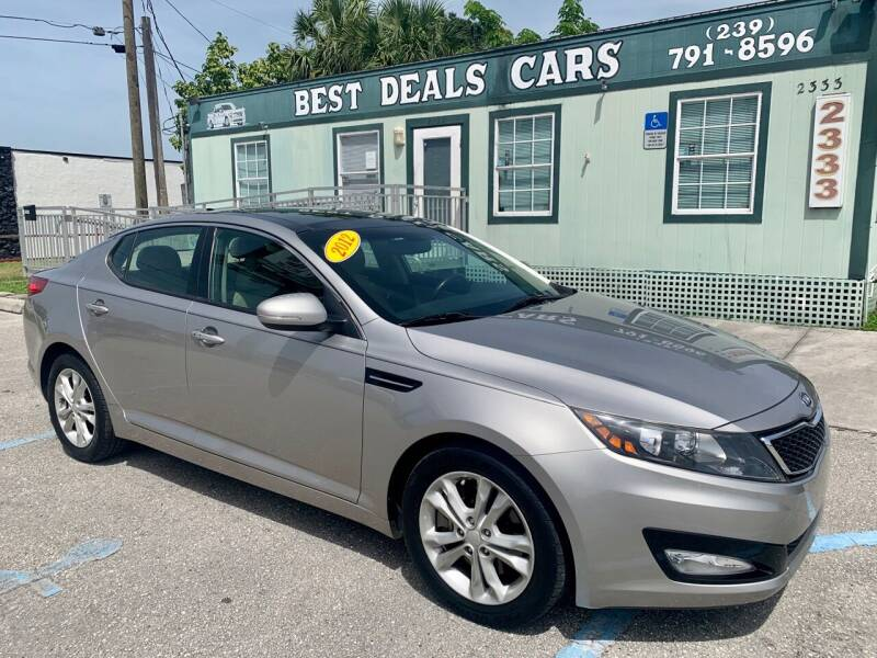 2012 Kia Optima for sale at Best Deals Cars Inc in Fort Myers FL