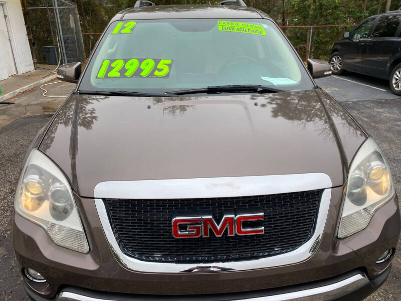 2012 GMC Acadia for sale at TOP OF THE LINE AUTO SALES in Fayetteville NC