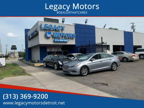 2015 Hyundai Sonata for sale at Legacy Motors in Detroit MI