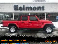 2021 Jeep Gladiator for sale at BELMONT DODGE CHRYSLER JEEP RAM in Barnesville OH