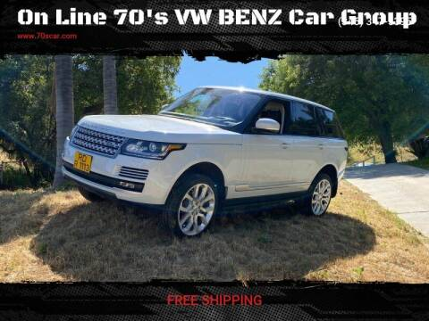 2017 Land Rover Range Rover for sale at On Line VW BENZ 70's Group in Warehouse CA