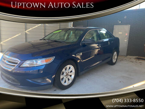 2012 Ford Taurus for sale at Uptown Auto Sales in Charlotte NC
