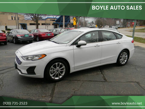 2019 Ford Fusion for sale at Boyle Auto Sales in Appleton WI