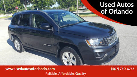 2014 Jeep Compass for sale at Used Autos of Orlando in Orlando FL