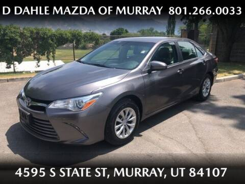 2015 Toyota Camry for sale at D DAHLE MAZDA OF MURRAY in Salt Lake City UT
