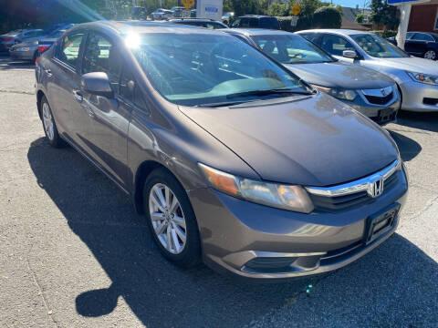 2012 Honda Civic for sale at Discount Auto Sales & Services in Paterson NJ