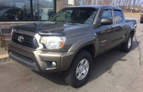 2013 Toyota Tacoma for sale at 222 Newbury Motors in Peabody MA
