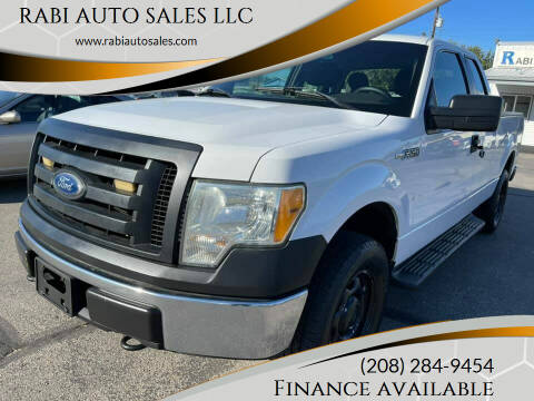 2010 Ford F-150 for sale at RABI AUTO SALES LLC in Garden City ID