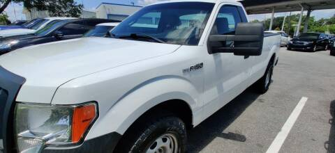 2012 Ford F-150 for sale at Max Auto Sales in Sanford FL