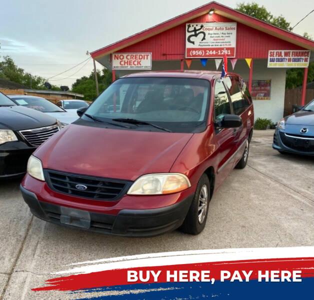 2000 Ford Windstar for sale at Coqui Auto Sales in La Feria TX